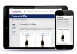 Tasty Sparkling webshop