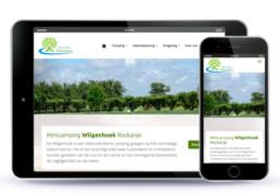 Homepage responsive Minicamping Wilgenhoek
